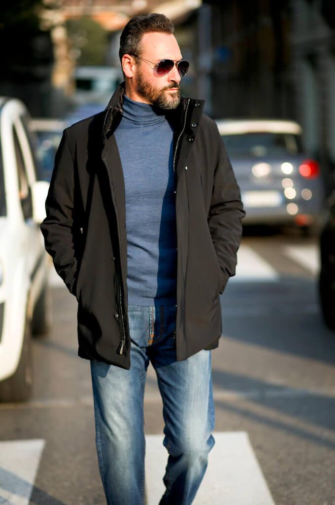Il giaccone: alter ego di stile Ader